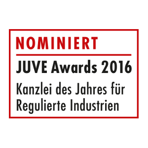 JUVE Awards 2016 - nominated