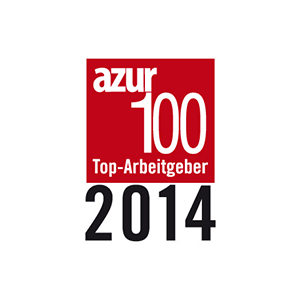 AZUR top employer 2014