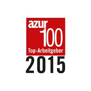 AZUR top employer 2015