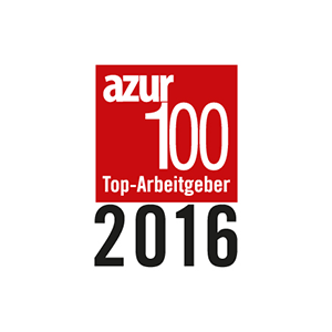 AZUR top employer 2016