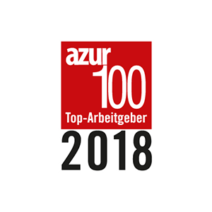 AZUR top employer 2018